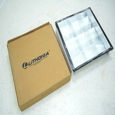 Lithonia Lighting 2pm 3N GB3 U31 9LD 277 1/3 Geb Parabolique Grille Troffer 3 ""