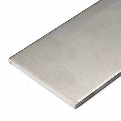 "10/"" Length 3//8/"" x 2/"" Aluminum Flat Bar 0.375/"" T6511 Mill Stock 6061 Plate"
