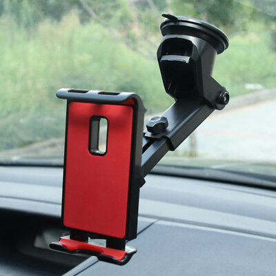 360° Universal Car Windshield Mount Holder For iPad Mini Air iPhone Tablet GPS