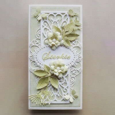 Lace Regal Background Metal Cutting Dies Scrapbook Embossing Card Decor