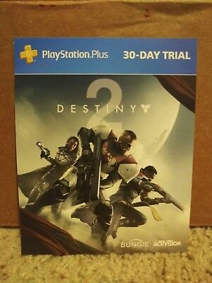 PlayStation Plus Trial Code 30 Day (1 Month) PS4