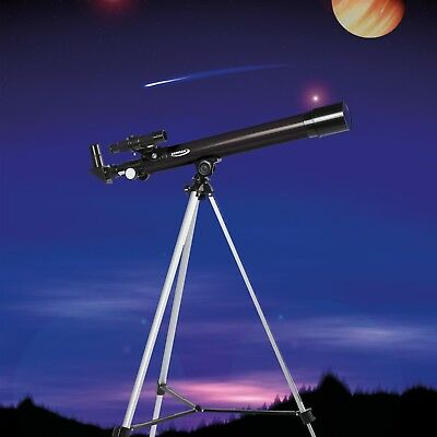 Zennox Refractor Astronomy Telescope 50 x 600 with Adjustable Tripod Lens Cover