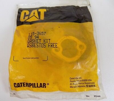 Caterpillar 115-3657 GENUINE GASKET KIT New Old Stock in Package CAT OEM!