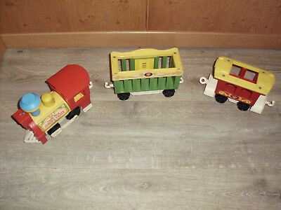 Fisher Price Little People Zirkus Zug Circus Train 991