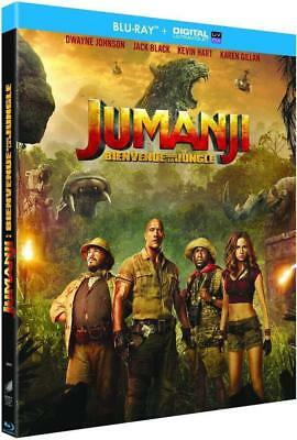 Jumanji : Bienvenue Dans La Jungle -  Blu-Ray + Copie Digitale Neuf Sous Blister