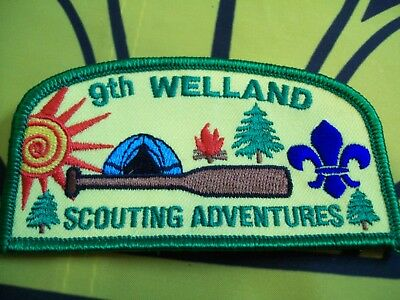 Canadian Scout Badge 9th Welland