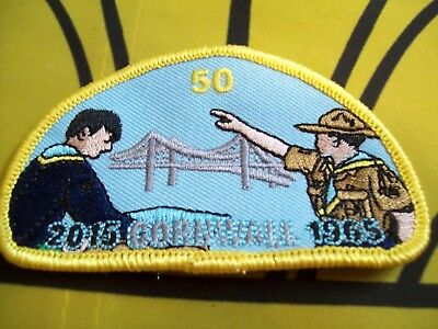 Canadian Scout Badge Cornwall 50 years