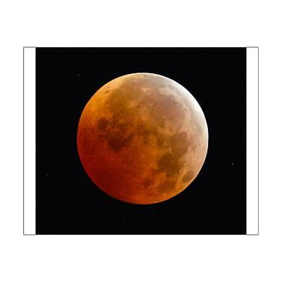 "15380349 10""x8"" (25x20cm) Print of Total Lunar Eclipse"