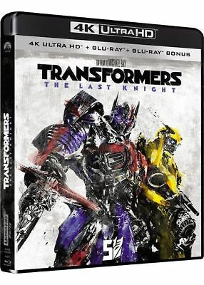 Transformers 5: The Last Knight Blu-ray 4K Ultra HD - NEUF SOUS BLISTER