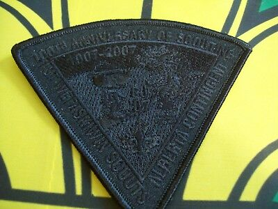 Canadian Scout Badge 1st Wetaskiwin Scouts Alberta  Contingent CJ.07 shadow