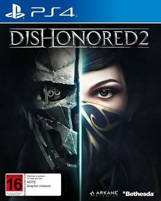 Dishonored 2 (PS4) BRAND NEW *free delivery* CHEAPEST PRICE