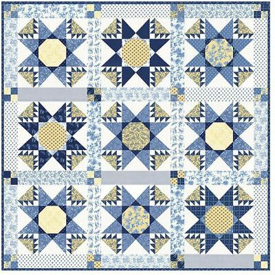 PATCHWORK QUILTING KIT Moda Jelly Roll Jam Quilt Fabric