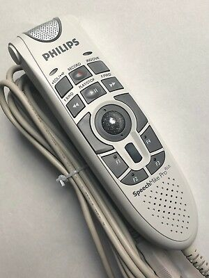 New Philips SpeechMike Pro Plus LFH5276 Dictation Microphone Speech Recognition