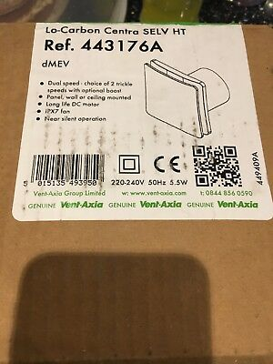 Vent Axia Centra Selv HT Extract Fan