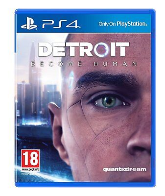 NEW & SEALED! Detroit Become Human Sony Playstation 4 PS4 Game