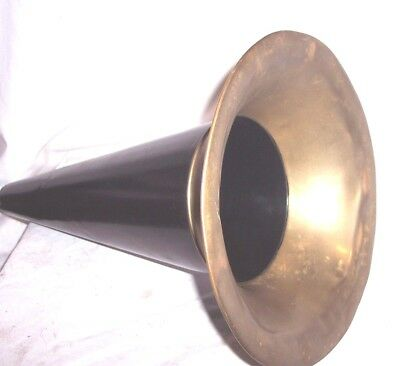 """Victor Disc Phonograph Witches 14"""" Horn"""