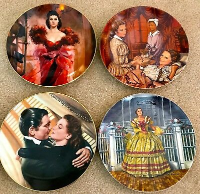 Gone With The Wind Plate's - Knowles & WL George
