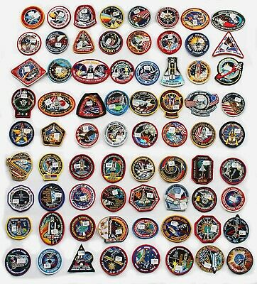 Lot of 72 NASA STS Space Shuttle Mission Astronaut Crew Patches - Best Buy