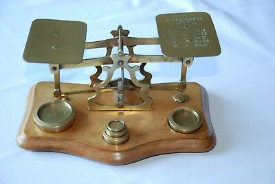 Fine Antique late Victorian Postal Scales by T J Smith Son & Co