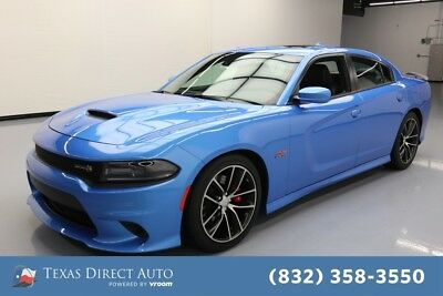 2015 Dodge Charger RT Scat Pack Texas Direct Auto 2015 RT Scat Pack Used 6.4L V8 16V Automatic RWD Sedan Premium