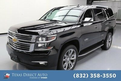 2015 Chevrolet Tahoe LTZ Texas Direct Auto 2015 LTZ Used 5.3L V8 16V Automatic RWD SUV Moonroof OnStar
