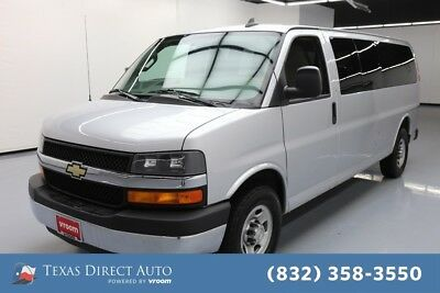 2016 Chevrolet Express LT Texas Direct Auto 2016 LT Used 6L V8 16V Automatic RWD Minivan/Van OnStar