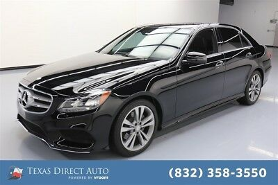 2015 Mercedes-Benz E-Class E 350 Texas Direct Auto 2015 E 350 Used 3.5L V6 24V Automatic RWD Sedan Premium