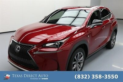 2015 Lexus NX F SPORT 4dr Crossover Texas Direct Auto 2015 F SPORT 4dr Crossover Used Turbo 2L I4 16V Automatic FWD