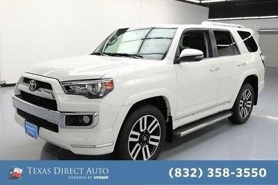 2017 Toyota 4Runner AWD Limited 4dr SUV Texas Direct Auto 2017 AWD Limited 4dr SUV Used 4L V6 24V Automatic 4WD SUV