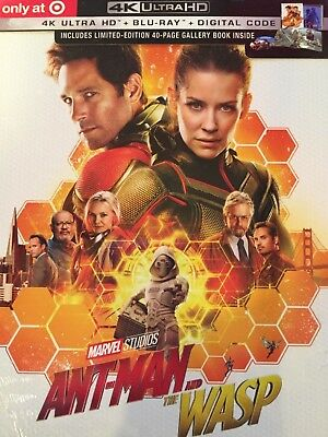 Ant-Man & the Wasp 2-Disc (Target Exclusive) (4K UHD + Blu-ray + Digital)
