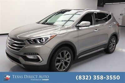 2017 Hyundai Santa Fe 2.0T Ultimate Texas Direct Auto 2017 2.0T Ultimate Used Turbo 2L I4 16V Automatic FWD SUV