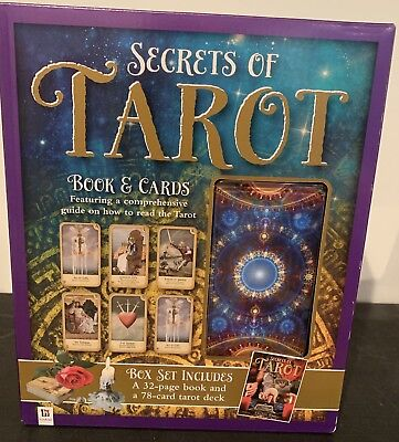 Secret of the Tarot Cards Box set (32 page book w/ 78 card deck)