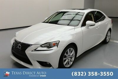 2016 Lexus IS  Texas Direct Auto 2016 Used Turbo 2L I4 16V Automatic RWD Sedan Moonroof Premium
