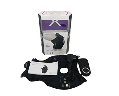 Expain Activate Reduce Knee Pain Support Brace Muscle TENS Treatment Bluetooth