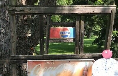 Vintage Original Sign Pepsi Cola