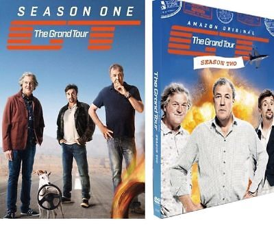 The Grand Tour Season's 1&2 dvd - New and sealed - free post
