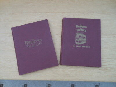 Two 'Broons & Oor Wullie'  hardback books- selection of  episodes   from 1930's