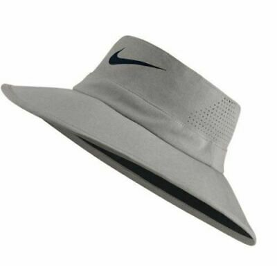 e9f6f85ab90 New Nike Unisex UV Cap Bucket Hat-Color Grey Size Medium-Large