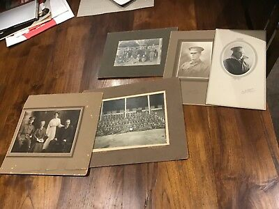 Original world war 1 old photo collection  Adelaide Anzac soldiers  military