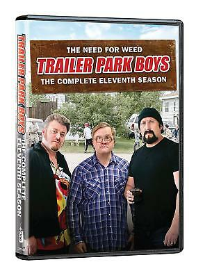 Trailer Park Boys 11 The Complete Eleventh Season (DVD, 2018, 2-Disc Set) NEW!!