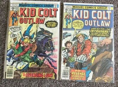 2 Marvel Comics Group KID COLT OUTLAW issues 222 & 223