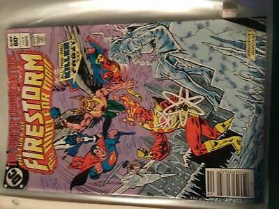 """The Justice League Battles """"The Fury Of Firestorm - The Nuclear Man"""" 1982 by DC"""