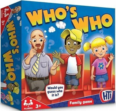 Traditional Full  Classic Guessing Games WHO IS WHO Who Is It? Family Fun  Kids