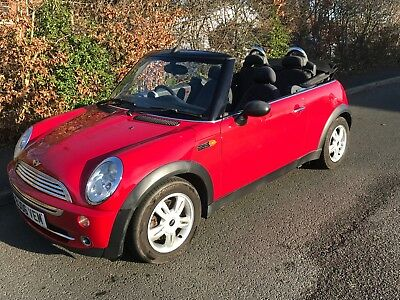 2006 Mini One Cooper Convertible Cabriolet in Red Low mileage