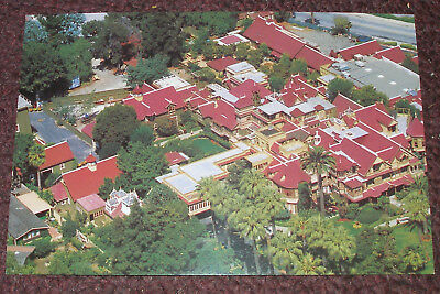 San Jose,Ca. - Winchester Mystery House Retired Unposted Postcard - Aerial View