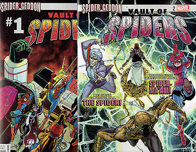 Vault Of Spiders #1 & 2 (Complete) Spider-Geddon 2018 Marvel Comics!