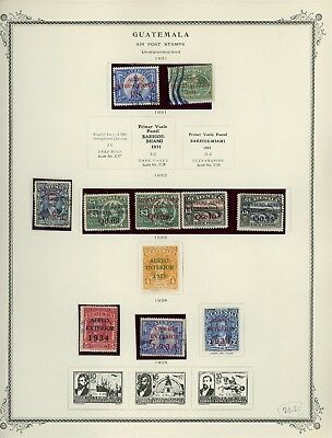 GUATEMALA Album Page Lot #SPEC28 - SEE SCAN - $$$