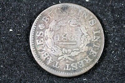 1835 - Hard Time HT-353 Rarity-1 Bucklins Interest Tables Troy NY!!  #H17729