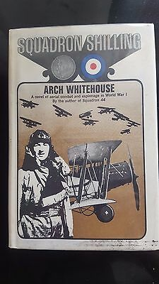 Squadron Shilling by Arch Whitehouse (1968, 1st Hardcover) Former Library