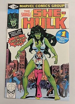 The Savage She-Hulk #1 1980 [FN/VF] 7.0 Origin, 1st She-Hulk Marvel Bronze Age